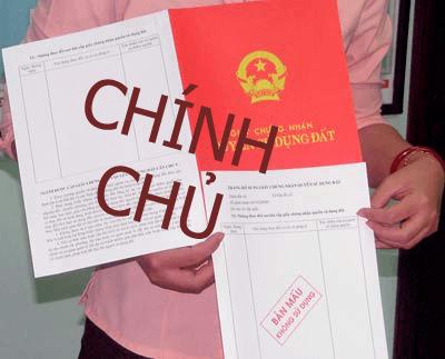 sang tên sổ đỏ chính chủ tại Hà nội