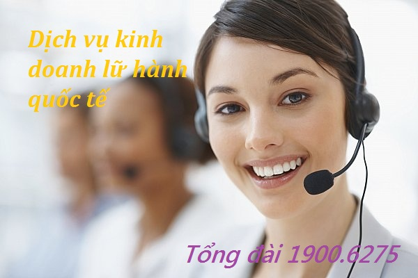 Dịch vụ kinh doanh lữ hành quốc tế